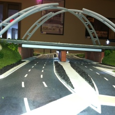 street view of finished model.